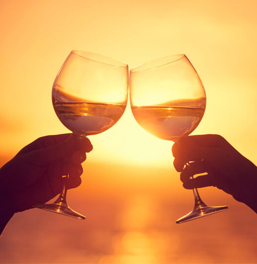 Bevans Investments page | NB Financial Solutions | Wine Glasses
